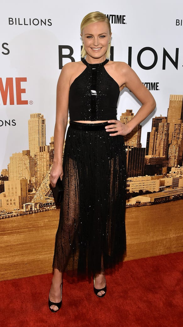 Malin Akerman attends the Showtime series premiere