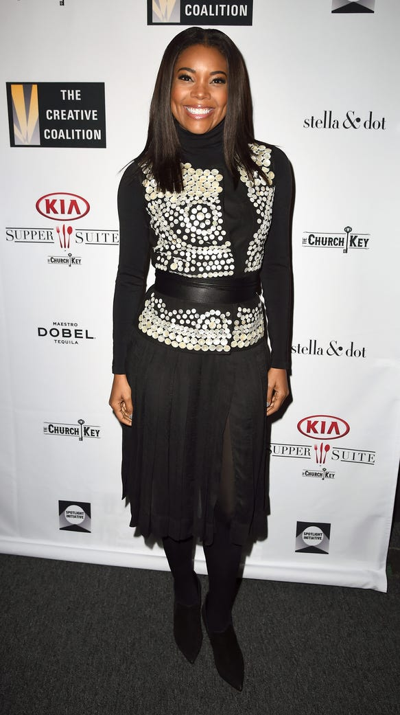 Actress Gabrielle Union attends the Creative Coalition
