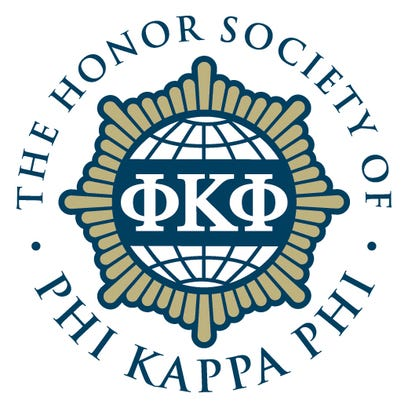 Phi Kappa Phi is the nation's oldest and most selective