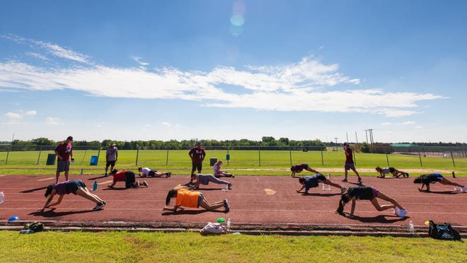 Because of positive coronavirus tests, Sherman and Tioga have been forced to change their summer workout schedules.