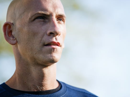"""Running has been my saving grace,"" said Rik Zortman"