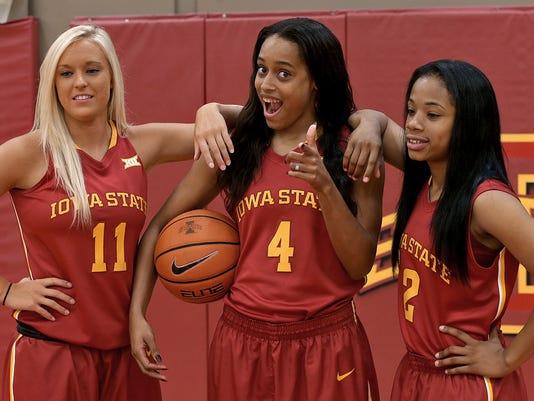 Iowa St. women's basketball media day