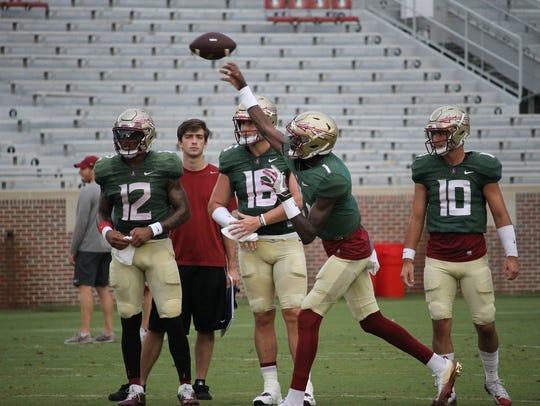Florida State freshman quarterback James Blackman earned