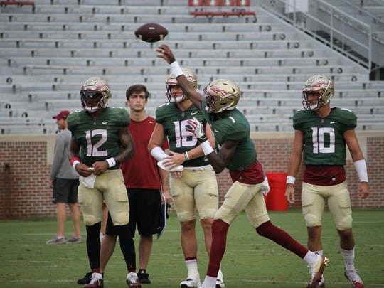 Florida State freshman quarterback James Blackman earned high praise from head coach Jimbo Fisher throughout fall camp.