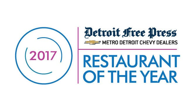 2017 Detroit Free Press/Metro Detroit Chevy Dealers Restaurant of the Year