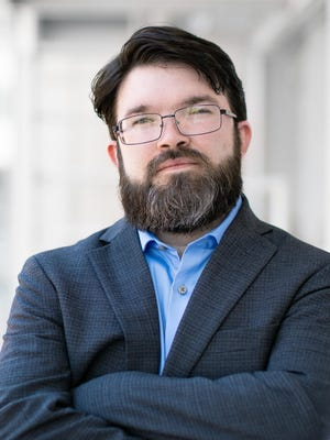 Jacob Minter is running as a Democrat to replace Pat Fallon in the state senate from District 30.