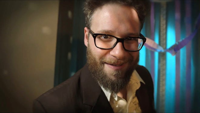 Screen grab of YouTube video 'You. Seth Rogen. Partying at Prom Together.'
