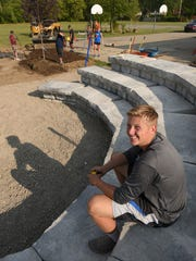 Hans Anderson's vidion of an Eagle Scout project takes