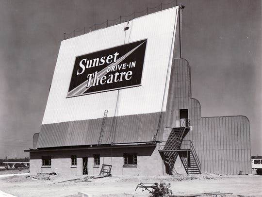The Sunset Drive-In opened in 1950 and had its final
