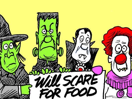 Marshall Ramsey Halloween column