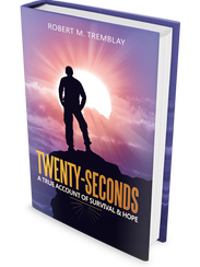 """The cover of """"Twenty-Seconds,"""" a book by Jericho Center"""
