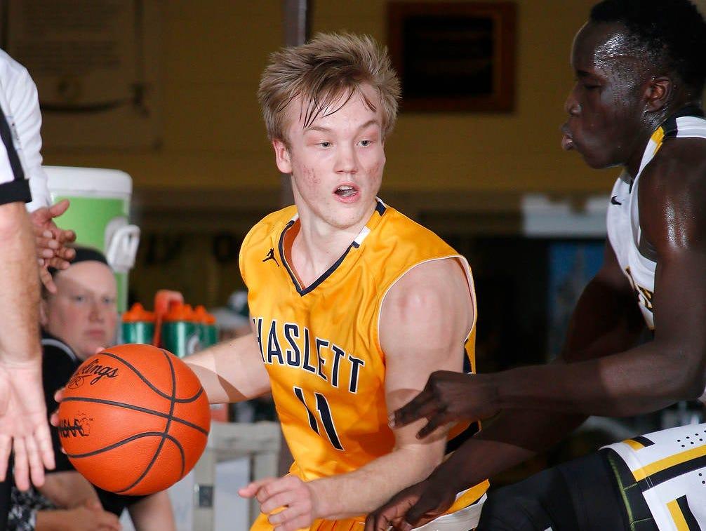 Haslett senior point guard Brandon Allen will continue his basketball career at Western Michigan.