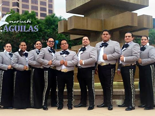 Mariachi Aguilas will perform on the New Mexico State University campus as part of the 2016 Latino Week events.