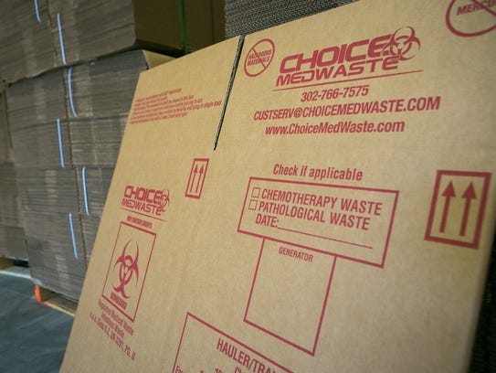 Choice MedWaste disposes of medical waste in Delaware