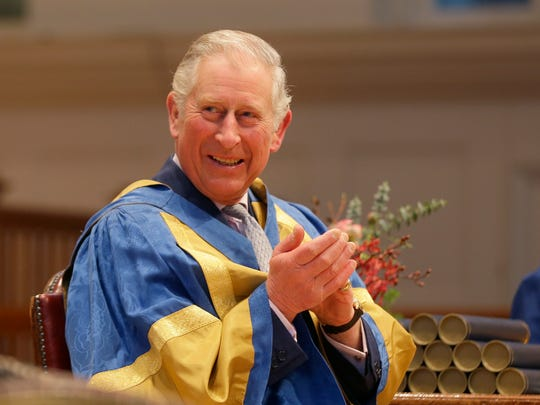 Prince Charles, the longest-serving heir to the British crown in history, will be the oldest monarch ever when he becomes King Charles III, and the one who waited the longest to ascend the throne. At nearly 70, he's been a constant in British life, almost as much as his mother Queen Elizabeth II. Take a look at Charles in pictures over the years. Here, he applauds at the Royal College of Music in London, March 7, 2017. A classical music fan, Charles is the patron of the college.