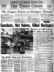 Sept. 14, 1971 edition of the Times-Union's coverage