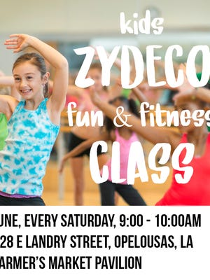 Zydeco Fun & Fitness hosted by Eva Noel