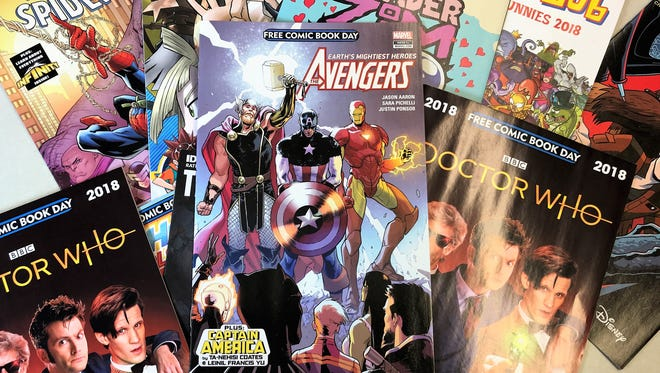 All Star Comics & Games will have Free Comic Book Day Saturday.