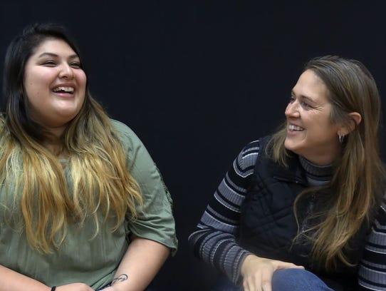 Reyna Saldana and Joann Stephens talk about how they've