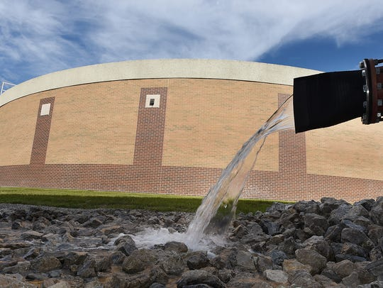 """Canton Township is alerting residents after a """"water"""