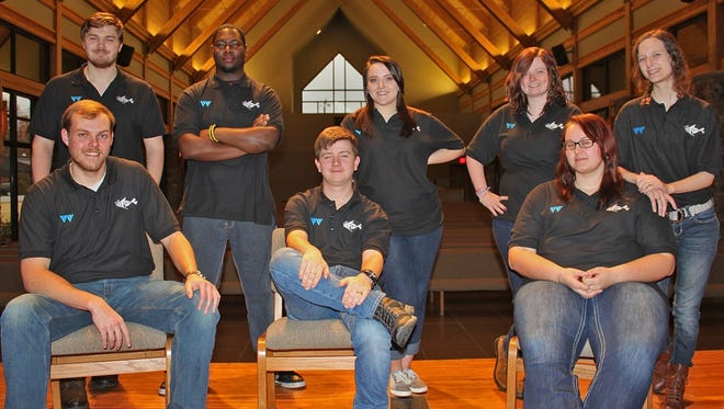 The Cast, which began in 1997, is a touring drama group which presents a Gospel message on the stage.Members of group are chosen by audition, and eight Williams's students are a part of this WBU ministry.