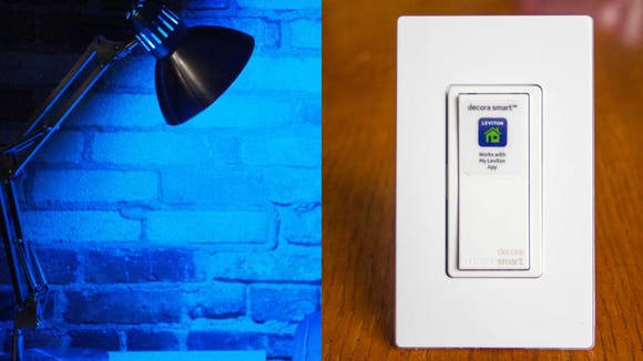 Smart bulbs and smart switches give you the ability to turn your lights on and off from anywhere.