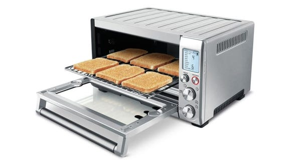 This toaster goes well beyond toast.