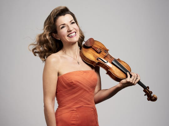 German violin superstar Anne-Sophie Mutter