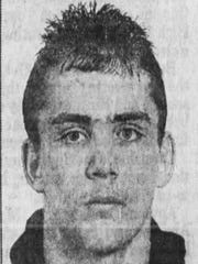 Collingswood's John Koss, shown here in 1992, won two state titles in wrestling for the Panthers.