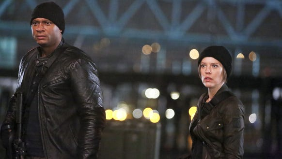 Oh hey Diggle and Lyla.