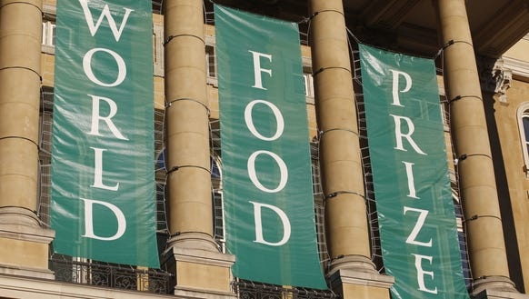 The World Food Prize 2016 Laureate Award Ceremony at
