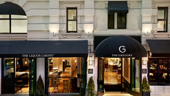 The Gregory Hotel in Manhattan will take 50% off rates