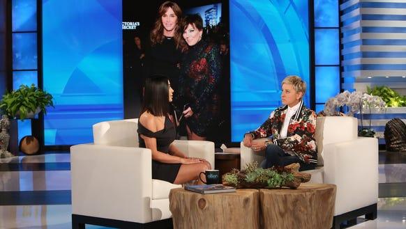 Kim Kardashian gets the 'Ellen' treatment.