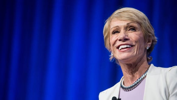 "Barbara Corcoran, mother and investor in the ""Shark Tank,"" says work/life balance ""doesn't exist."" (Photo: Kelsey Kremer/The Register)"