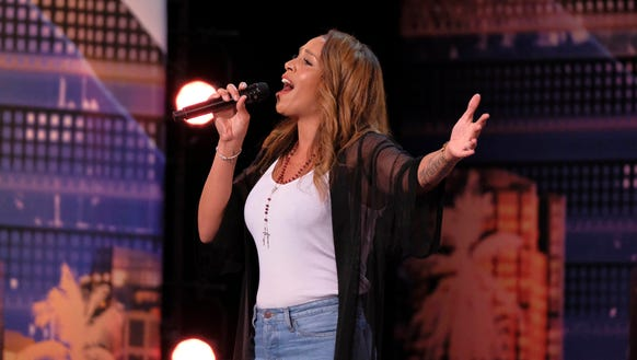 Glennis Grace had unanimous support from the judges after her confident performance of a Whitney Houston song on 'America's Got Talent.'
