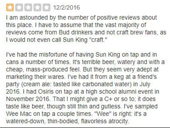 A review of Sun King.