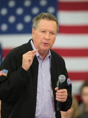 Ohio Gov. John Kasich's campaign pulled out of Indiana