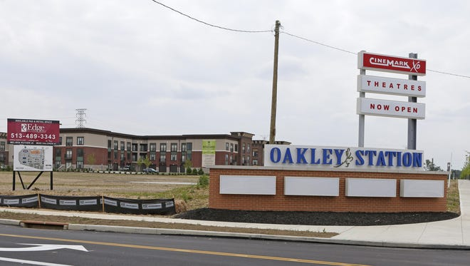 The $120 million Oakley Station development sits on 74 acres at the former Cincinnati Milacron manufacturing site.
