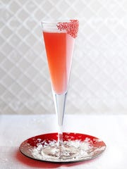 The Berry Blush Fizz at the Oceanaire Seafood Room