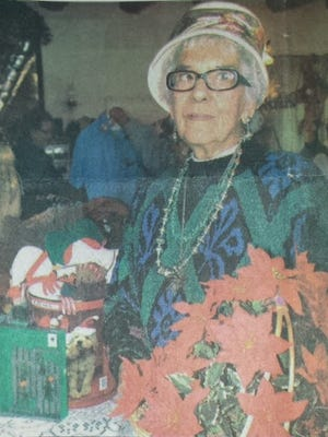 Pictured is a vintage photo from a past Carrizozo Woman's Club Holiday Hoedown Christmas Bazaar. The annual event will be from 2 p.m. to 6 p.m. Friday and 9 a.m. to 3 p.m. Saturday at the Carrizozo Women's Club at 11th Street and  D Avenue in Carrizozo.