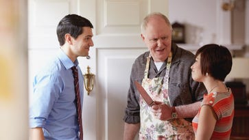 NBC, John Lithgow poke fun at true-crime docs in 'Error'