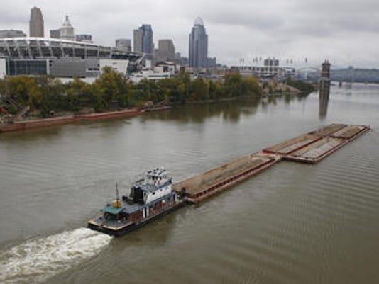 river barge (landers)t