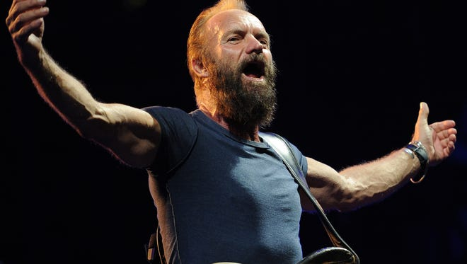 Sting will be joined by Peter Gabriel for a show July 10 at Summerfest in Milwaukee.
