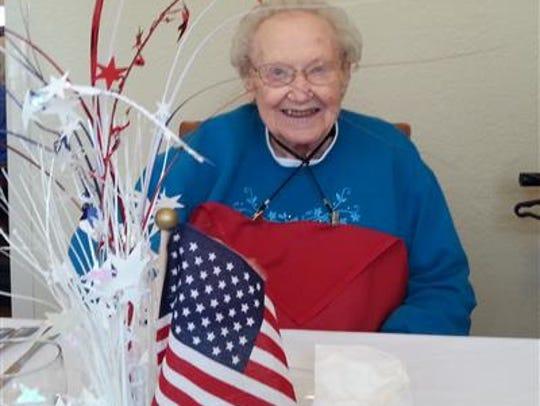 Dorothy Mary McDonald, 95