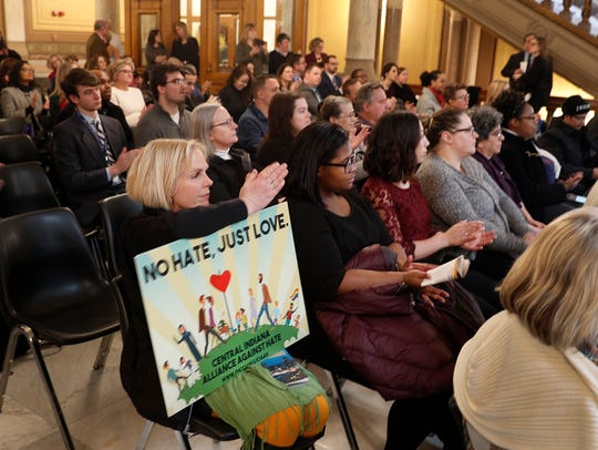 The Central Indiana Alliance Against Hate joined with