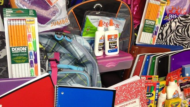 The MOMS Club of Jackson is seeking school supplies.