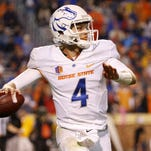 Freshman Brett Rypien has put up impressive numbers as Boise State's quarterback since replacing injured starter Ryan Finley during a game three weeks ago.