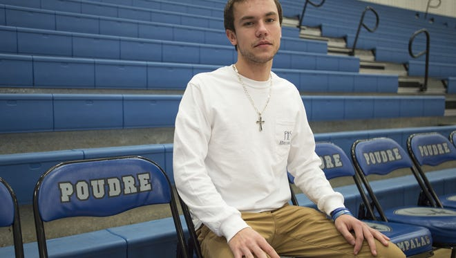 Poudre High School senior basketball player Jake Luna tore his ACL in July, jeopardizing his senior season. He was cleared to return to practice this week.