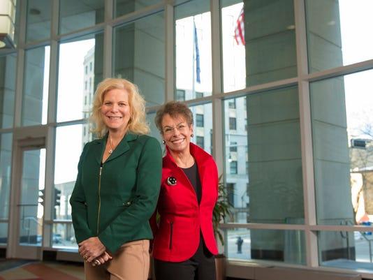 Kim Sponem and Marsha Lindsay