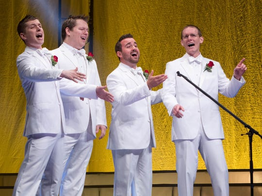 Instant Classic were champions of the quartet competition at the 2015 Barbershop Harmony Society International Convention.